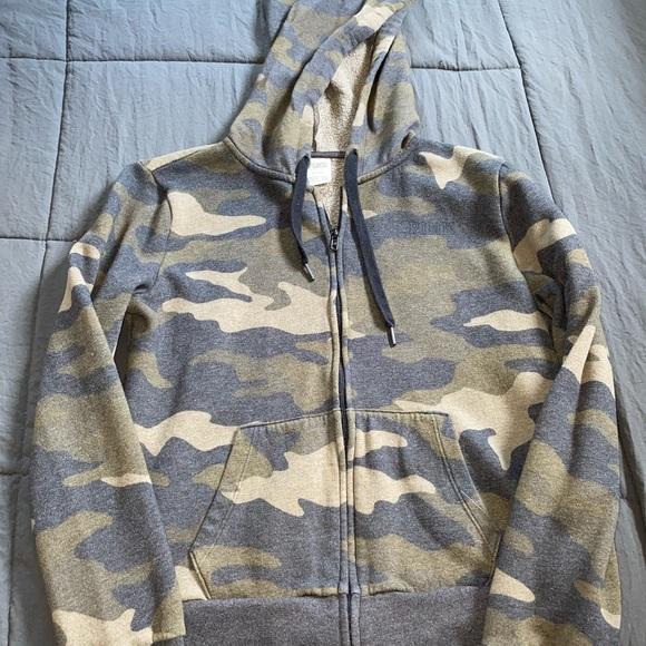 Victoria's Secret zip-up jacket.